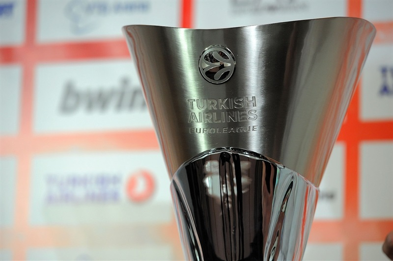 Euroleague Trophy - Championship Game Press Conference - Final Four Madrid 2015 - EB14