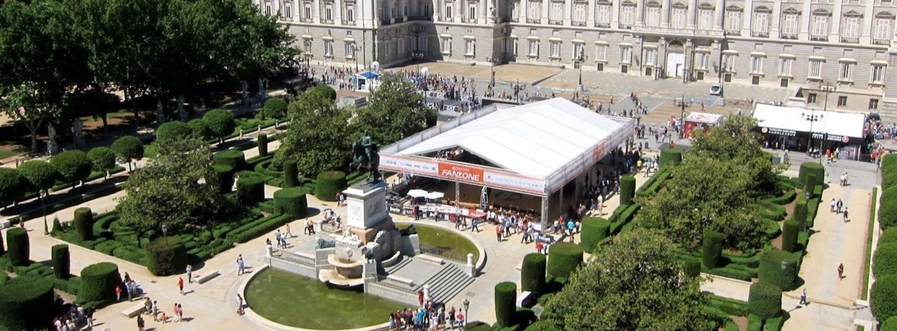 400,000 visitors make Fanzone in Madrid biggest and best ever!