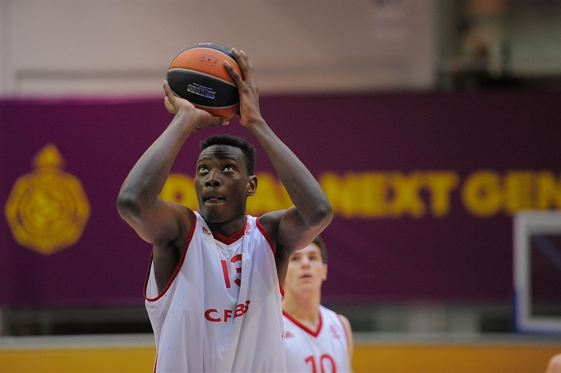 Stephane Gombauld - U18 INSEP Paris - ANGT Final Four Madrid 2015 - JT14