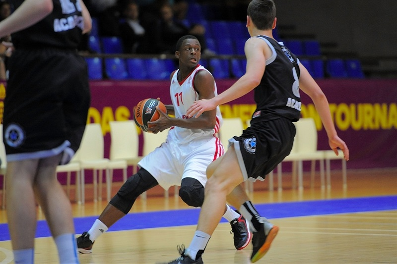 Gregory Bengaber - U18 INSEP Paris - ANGT Final Four Madrid 2015 - JT14