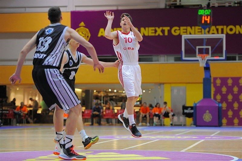 Yannick Blanc - U18 INSEP Paris - ANGT Final Four Madrid 2015 - JT14