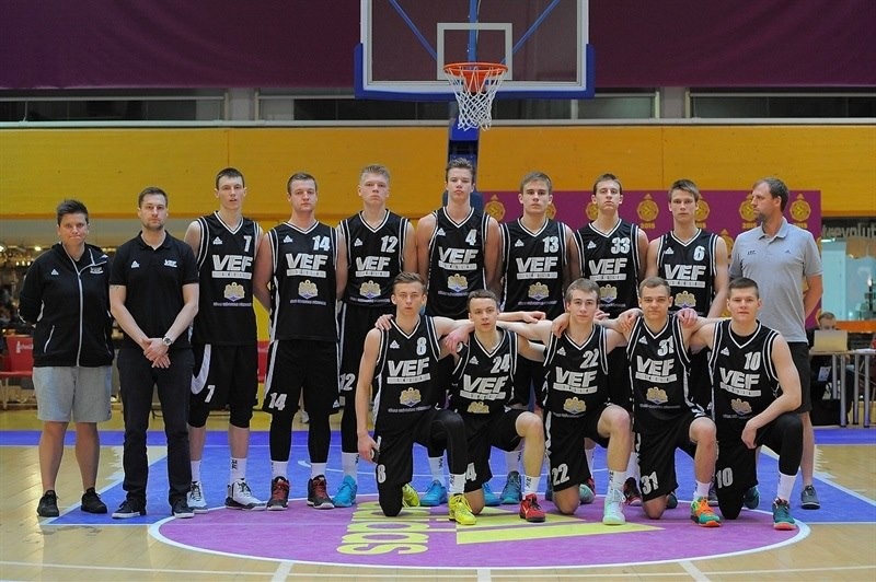 U18 VEF Riga - ANGT Final Four Madrid 2015 - JT14