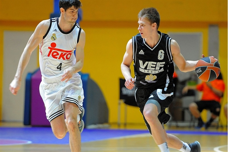 Davis Gutmanis - U18 VEF Riga - ANGT Final Four Madrid 2015 - JT14