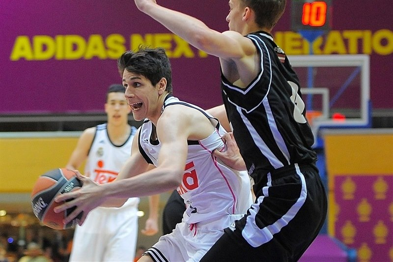 Guillermo Mulero - U18 Real Madrid - ANGT Final Four Madrid 2015 - JT14