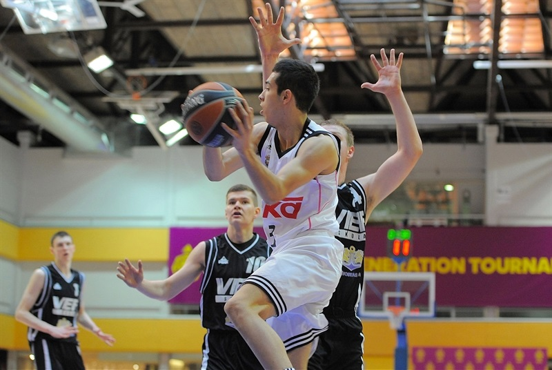 Andres Rico - U18 Real Madrid - ANGT Final Four Madrid 2015 - JT14