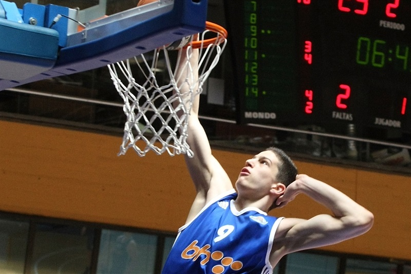 Amar Gegic - U18 Spars Sarajevo - ANGT Final Four Madrid 2015 - JT14