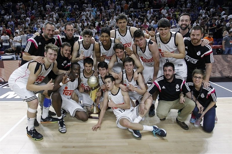 Real Madrid is the new Champ - ANGT Final Four Madrid 2015 - JT14
