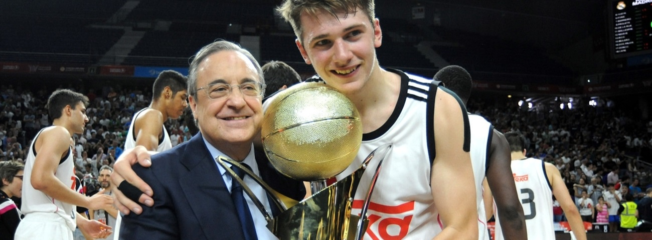 Real Madrid's young star Doncic named ANGT MVP