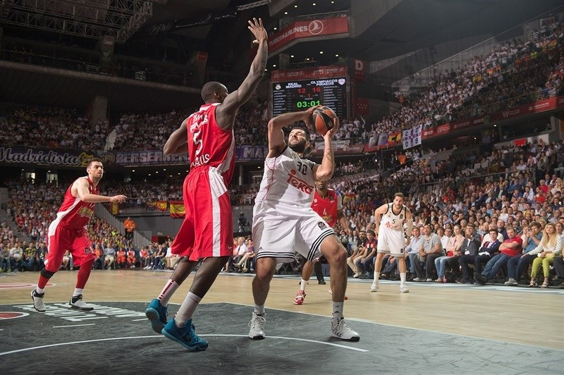 Ioannis Bourousis - Real Madrid - Final Four Madrid 2015 - EB14