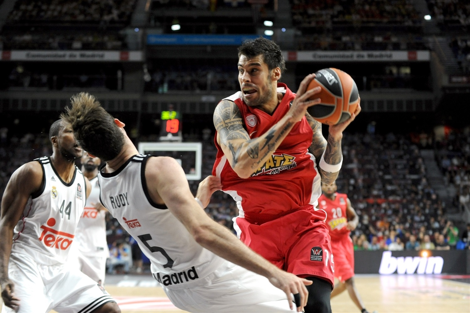 Georgios Printezis - Olympiacos Piraeus - Final Four Madrid 2015 - EB14