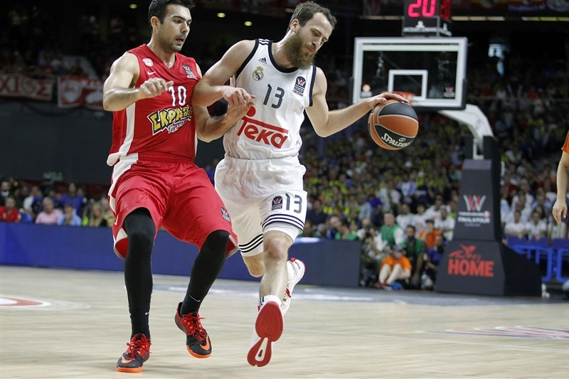 Sergio Rodriguez - Real Madrid - Final Four Madrid 2015 - EB14
