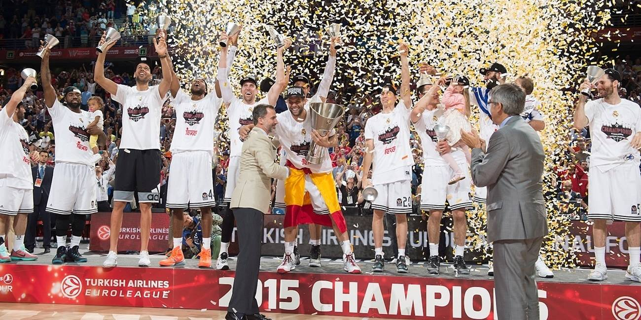 Real Madrid is the new champ Euroleague 2014-15 - Final Four Madrid 2015 - EB14