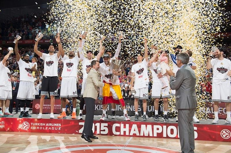 Real Madrid is the 2014-15 Turkish Airlines Euroleague champion!