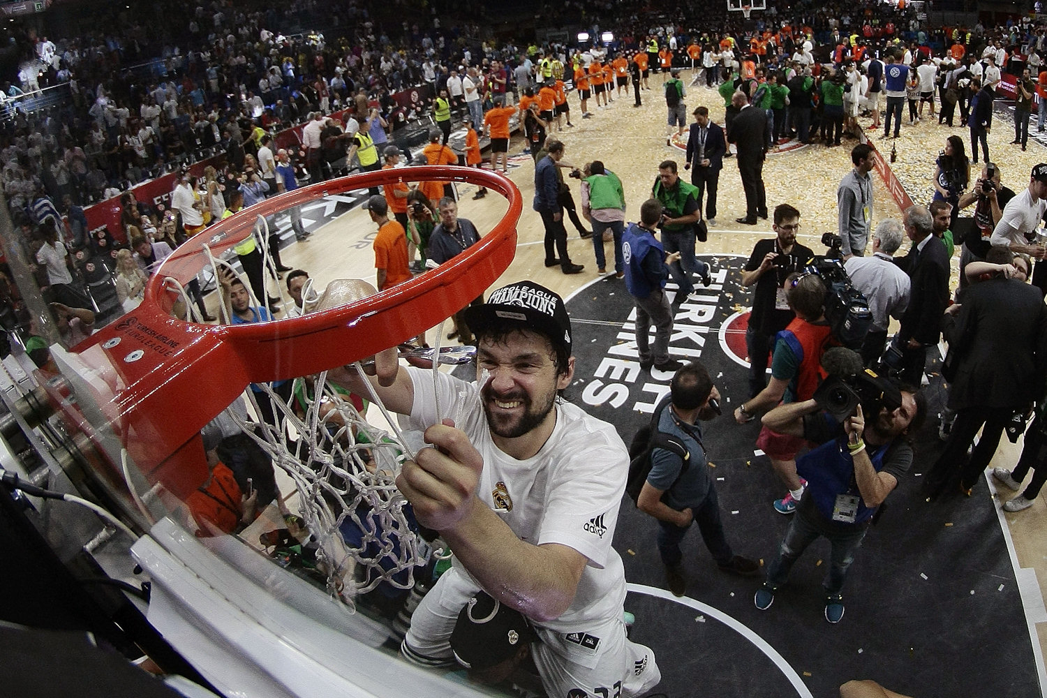 Sergio Llull - Real Madrid is the new champ Euroleague 2014-15 - Final Four Madrid 2015 - EB14