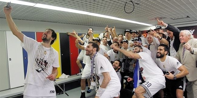 Final Four Madrid 2015 - Real Madrid title celebration!