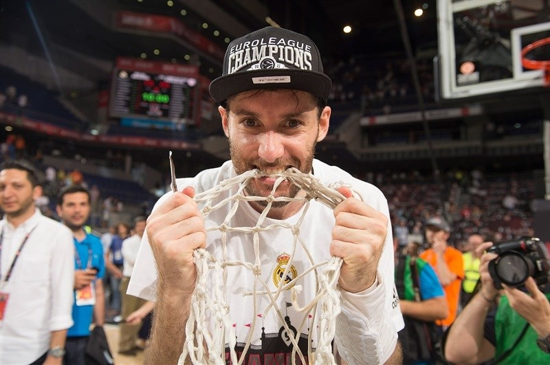 Nobody is taking one championship souvenir away from Rudy Fernadez of Real Madrid