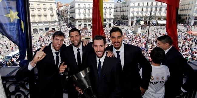 Real Madrid celebrates title with region, city