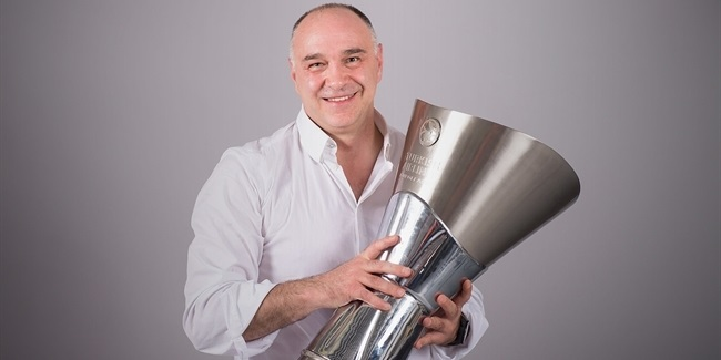 Alexander Gomelskiy Coach of the Year award won by Real Madrid's Pablo Laso