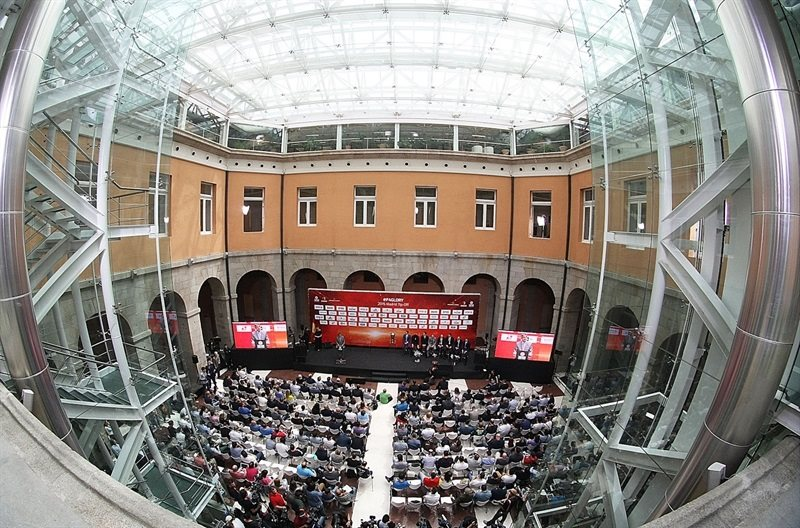 Real Casa de Correos - Opening Press Conference - Final Four Madrid 2015 - EB14