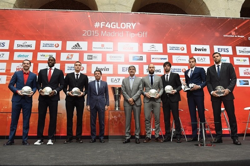 Euroleague Awards - Opening Press Conference - Final Four Madrid 2015 - EB14
