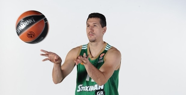 Dimitris Diamantidis - Panathinaikos Athens media day 2014