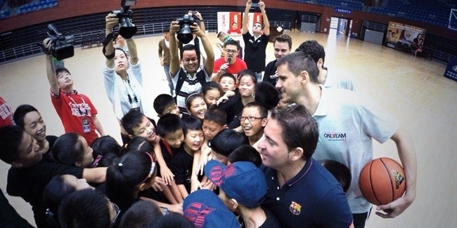 FC Barcelona brings One Team to Hangzhou, China!