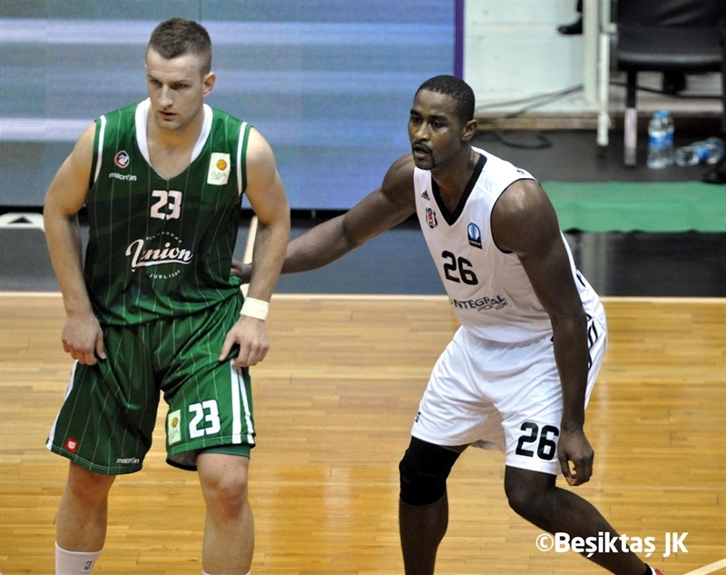 Alen Omic - Union Olimpija vs. Besiktas - EC14 (photo Besiktas)