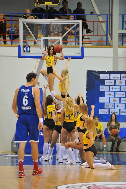 Cheerleaders in action - Ventspils - EC14 (photo Ventspils)