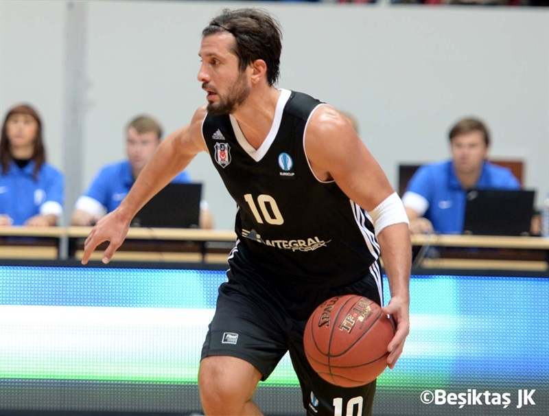 Kerem Tunceri - Besiktas Intergral Forex - EC14 (photo Besiktas)