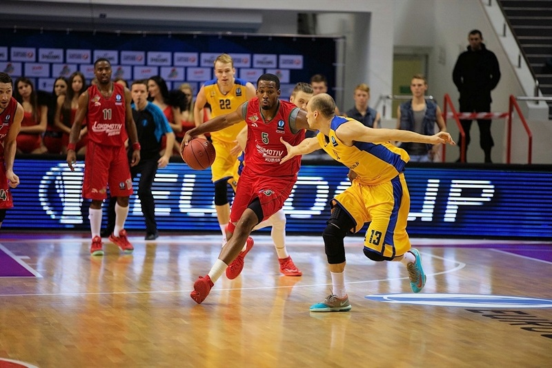 Derrick Brown - Lokomotiv Kuban - EC14 (photo Evgeniy Nasonov - SMM Lokomotiv-Kuban)