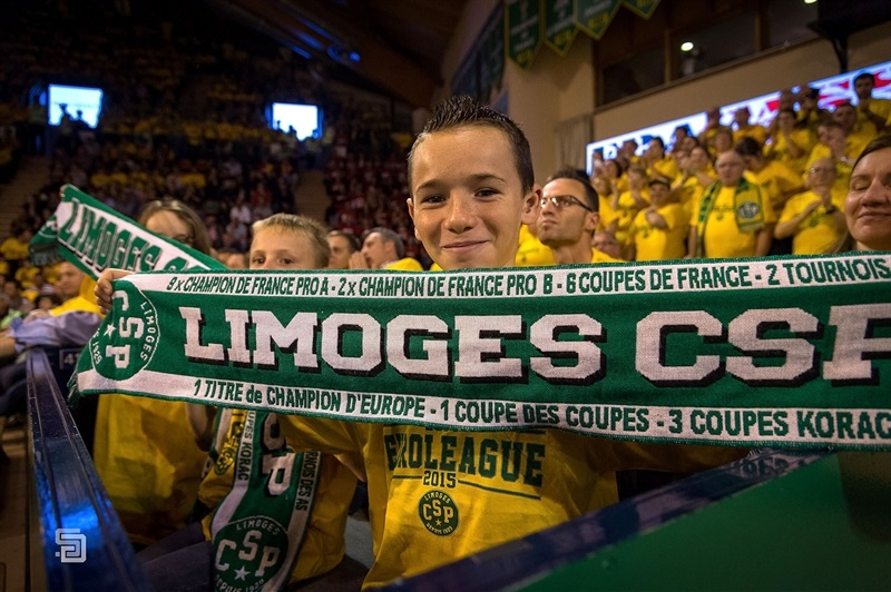 Young fans - Limoges CSP - EB14