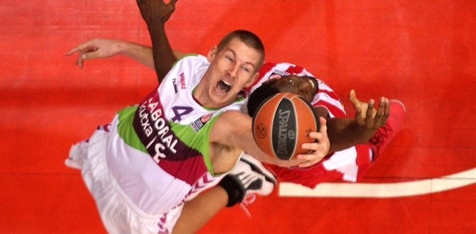 Laboral Kutxa Vitoria scores its 25,000th Euroleague point