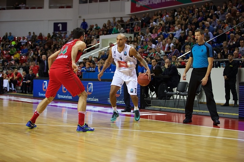 Marc Carter - PAOK Thessaloniki - EC14 (photo Lokomotiv - Fyodor Obmaikin)