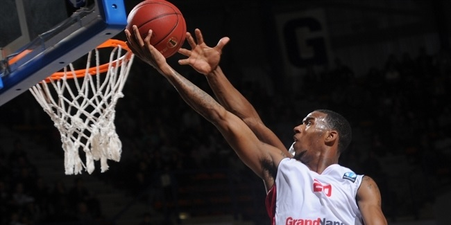 Regular Season Round 4 MVP: Darius Adams, SLUC Nancy