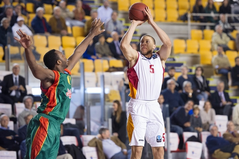 Brandon Triche - Virtus Rome - EC14 (photo Virtus Rome)