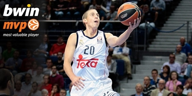 Regular Season Round 3 bwin MVP: Jaycee Carroll, Real Madrid