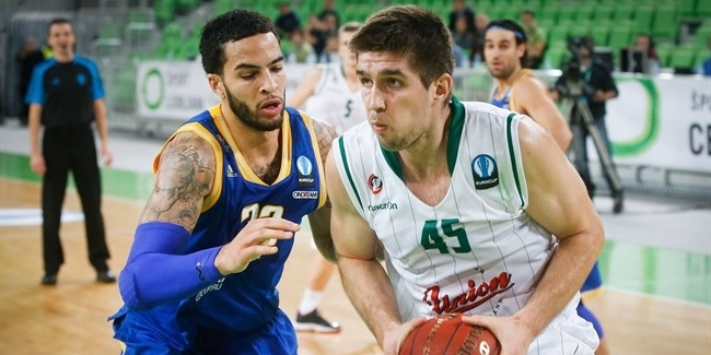 Last 32 Round 2 co-MVPs: Anthony Randolph of Lokomotiv and Halil Kanacevic of Olimpija