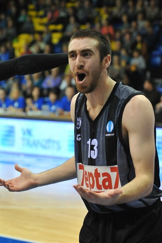 Jake Odum - PAOK Thessaloniki - EC14 (photo Ventspils)