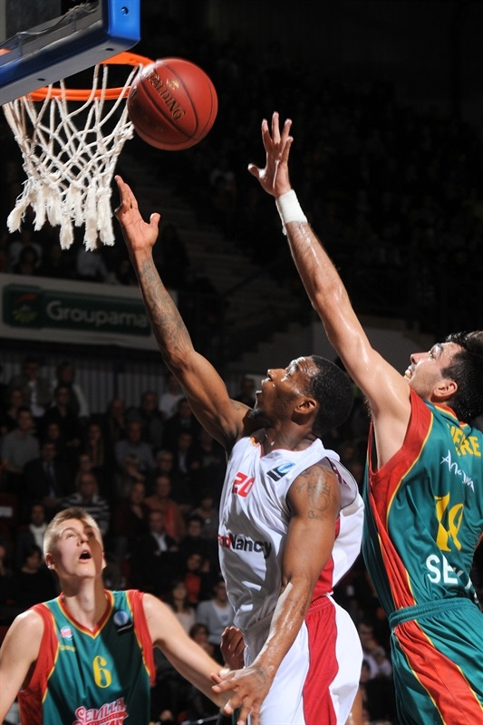 Darius Adams - SLUC Nancy - EC14 (photo SLUC Nancy - Christopher Courtois)