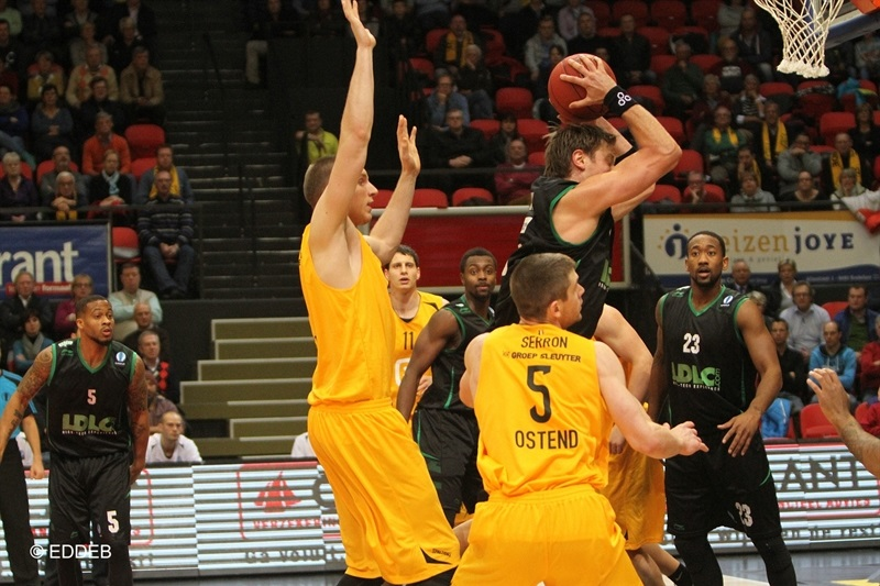 David Andersen - ASVEL Lyon - EC14 (photo Telenet Ostend - EDDEB)