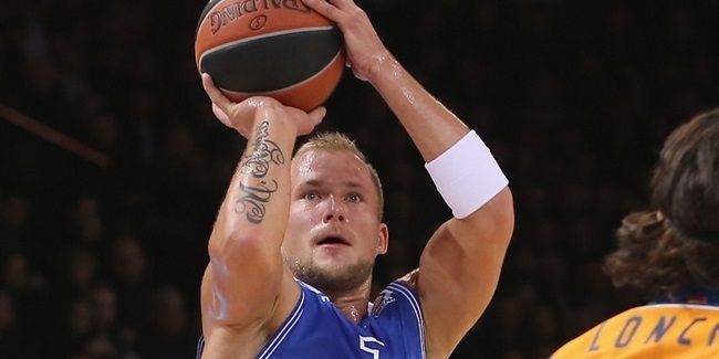 Neptunas, captain Mazeika together for two more years
