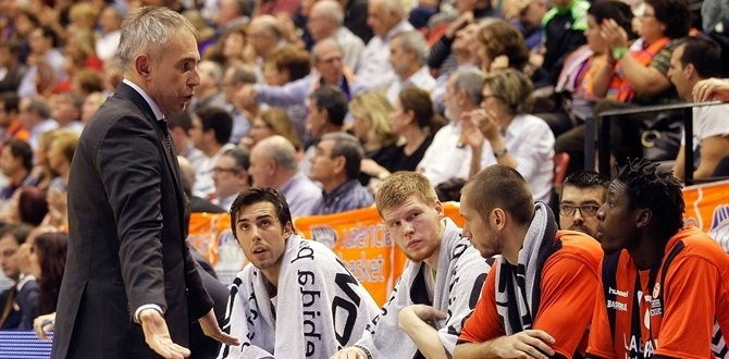 Coach Crespi relieved of duties by Laboral Kutxa