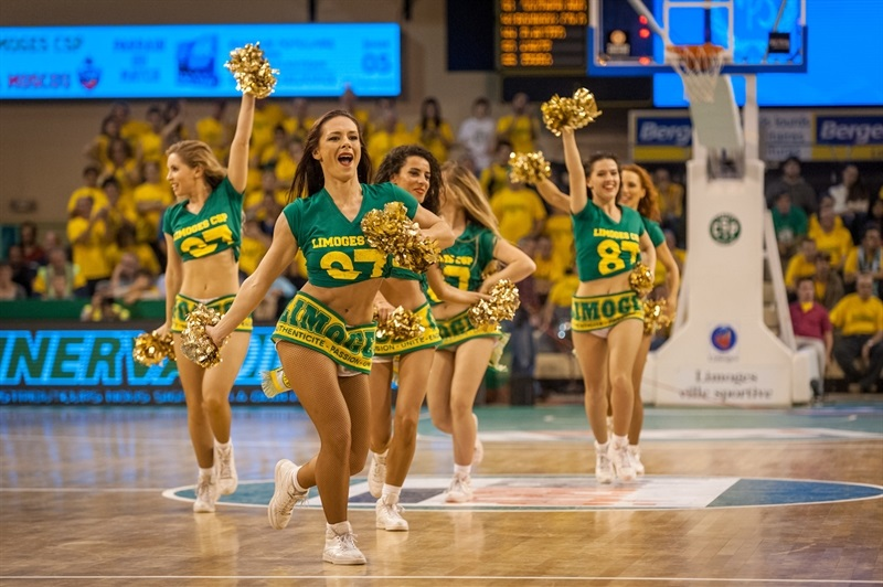 Cheerleaders - Limoges CSP - EB14