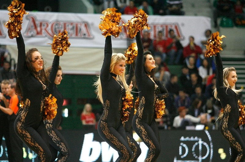 Cheerleaders - Cedevita Zagreb - EB14