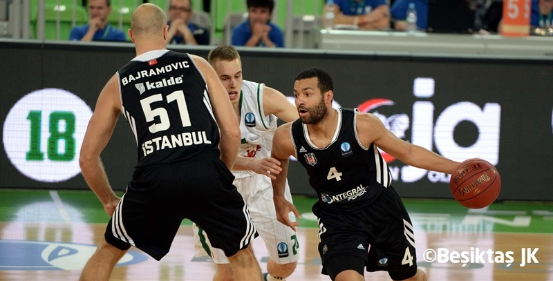 Chris Lofton - Besiktas Integral Forex - EC14 (photo Besiktas JK)