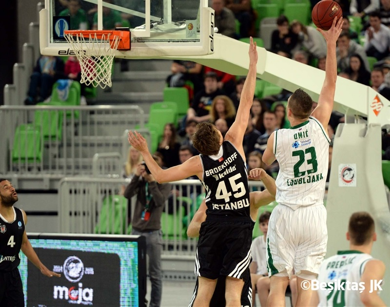 Alen Omic - Union Olimpija - EC14 (photo Besiktas JK)