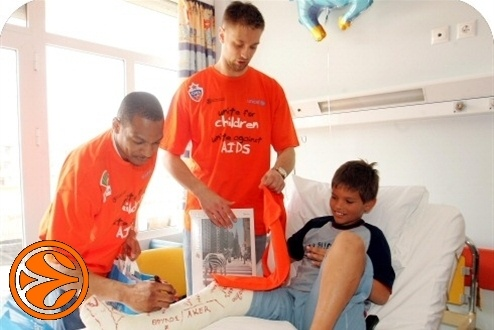 Marcus Brown and David Andersen - UNICEF, united for children - FF Athens 2007
