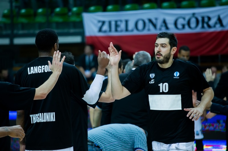 Georgios Dedas - PAOK Thessaloniki - EC14 (photo Zielona Gora - Szymon Papiez – creative photography)