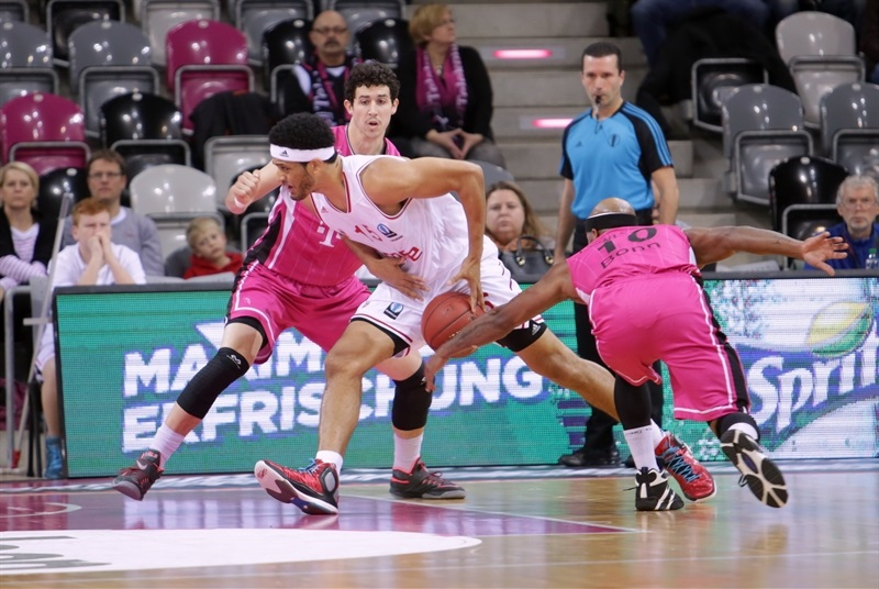 Josh Duncan - Brose Baskets Bamberg - EC14 (photo Jörn Wolter - Telekom Baskets Bonn)
