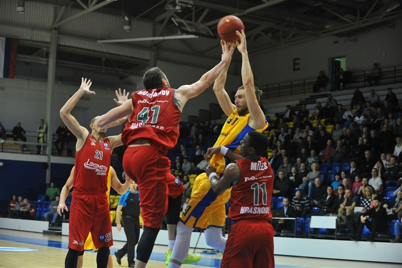 Kikita Kurbanov- Lokomotiv Kuban - EC14 (photo Ventspils)